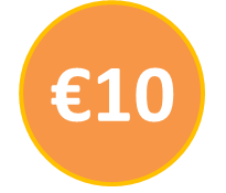 Voucher €10 call credit