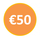 Voucher €50 call credit